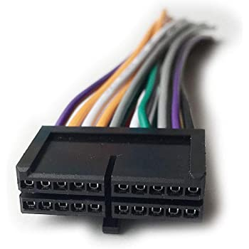 Amazon.com: New Pyle 20 PIN Wire Harness Radio Plug Stereo for DVD CD MP3  TV Players: Car Electronics   Pyle Audio Wire Harness      Amazon.com