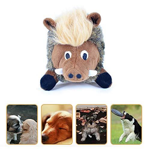 none brand Quietschspielzeug für Hunde, Hundespielzeug Kuscheltier Haustier Wildschwein Hundespielzeug Interaktives Hundespielzeug für kleine mittlere und große Hunde
