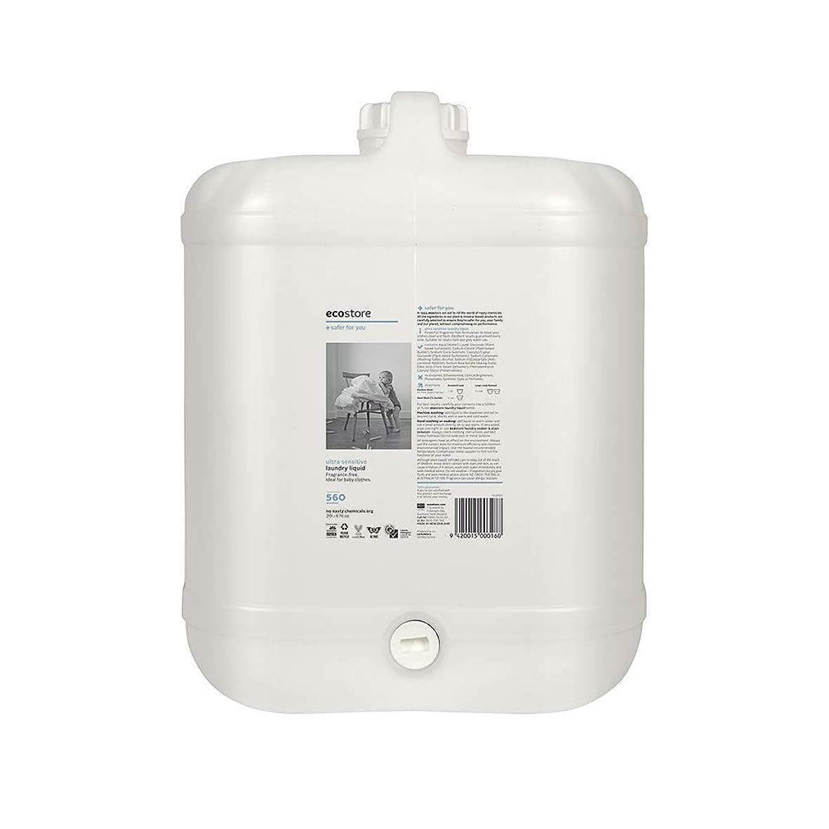 未知の行為深さecostore(エコストア) ランドリーリキッド <無香料> バルク 20L