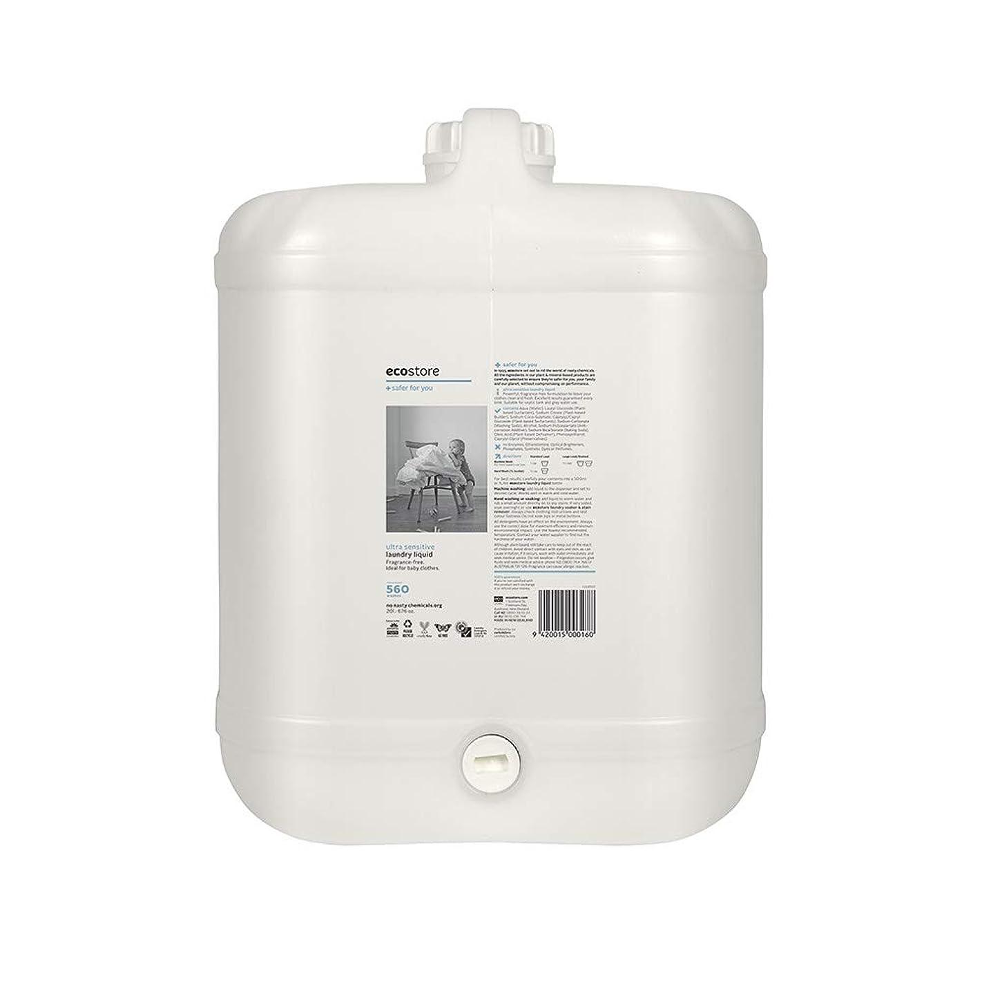 カレンダー選択する航海のecostore(エコストア) ランドリーリキッド <無香料> バルク 20L