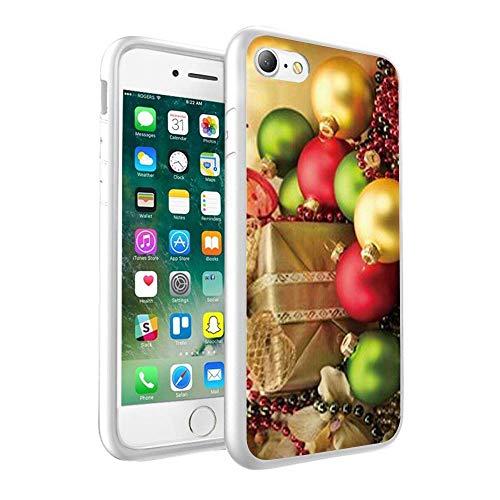 CHRISTMAS Design nadrukowane na zamówienie czarne twarde etui na telefon komórkowy do Samsung Galaxy A5 2018 (132)