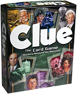 Winning Moves Games Clue the Card Game