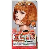 L'Oreal Paris Feria Multi-Faceted Shimmering Permanent Hair Color, C74 Copper Crave (Intense Copper), Pack of 1, Hair Dye