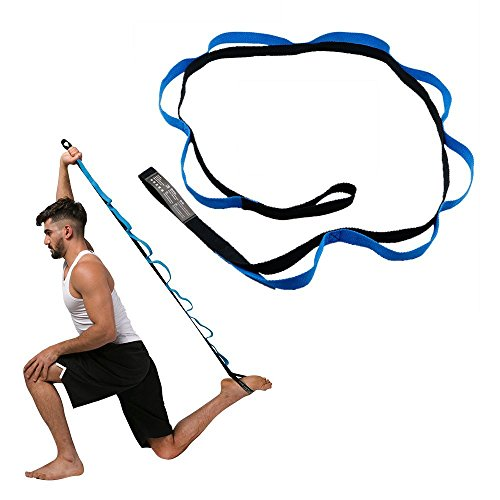 Sconosciuto Yoga Stretch Band Yoga Strap Leg Stretch Band Leg Stretch Band on Door Fitness Flessibilit/à Training Gymnastic Exercise Ballet /& Gymnastics Training