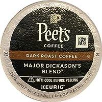Peet's Coffee Major Dickason Blend Single Cup Coffee for Keurig K-Cup Brewers 120 count ,Peet-sh4f by Peet's Coffee