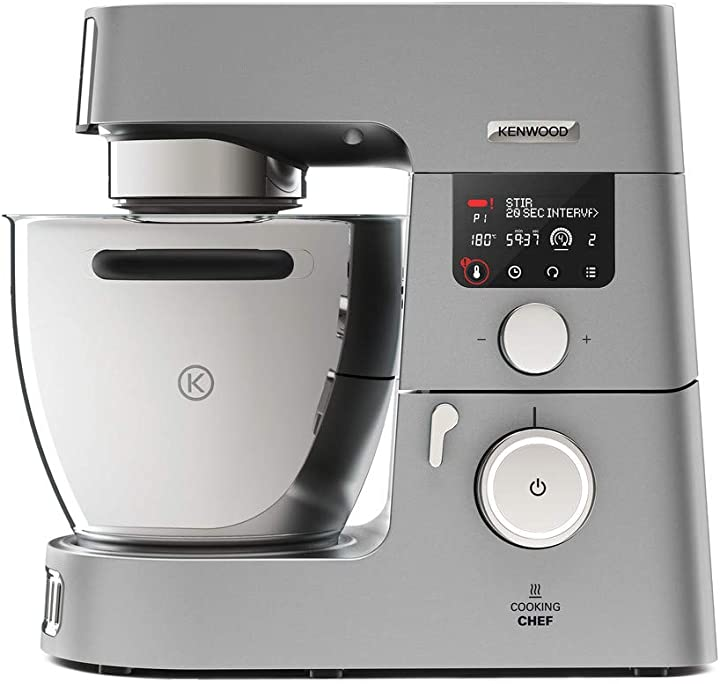 Impastatrice planetaria, robot da cucina mixer, 1500w, 6.7 litri kenwood kcc9060s cooking chef gourmet