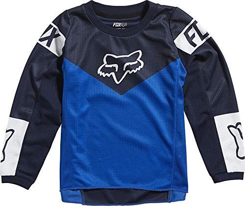 Fox Racing Kids' Youth 180 REVN Motocross Jersey, Blue, Medium