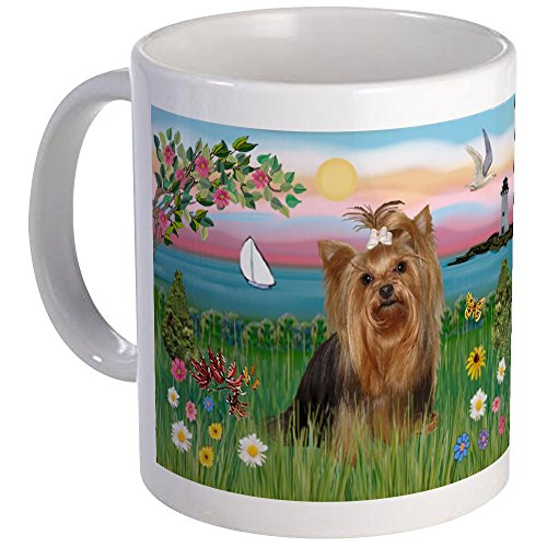CafePress - Lighthouse & Yorkie #7 Mug - Unique Coffee Mug, Coffee Cup, Tea Cup