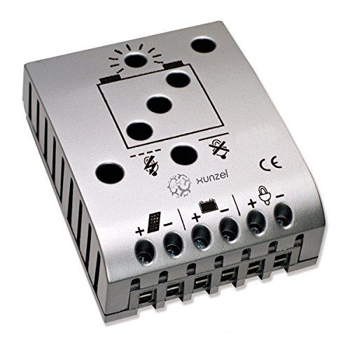Xunzel 12/24 V, 5 A Solar-Laderegler und Entladung-Controller, 1 Stück, ISCCL-5A