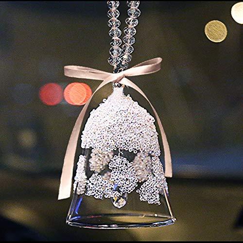 weichuang Accesorios de Decoración del Hogar Cristal Campanas de Viento al aire libre Navidad Decoraciones Colgantes de la Pared Adornos Feng Shui Regalos