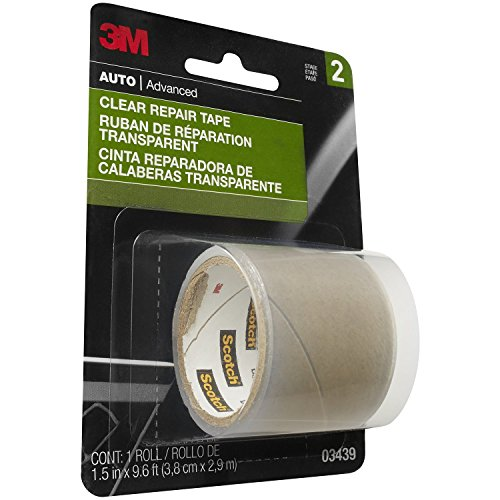 3M Clear Repair Tape, 03439, 1-1/2 in x 115 in