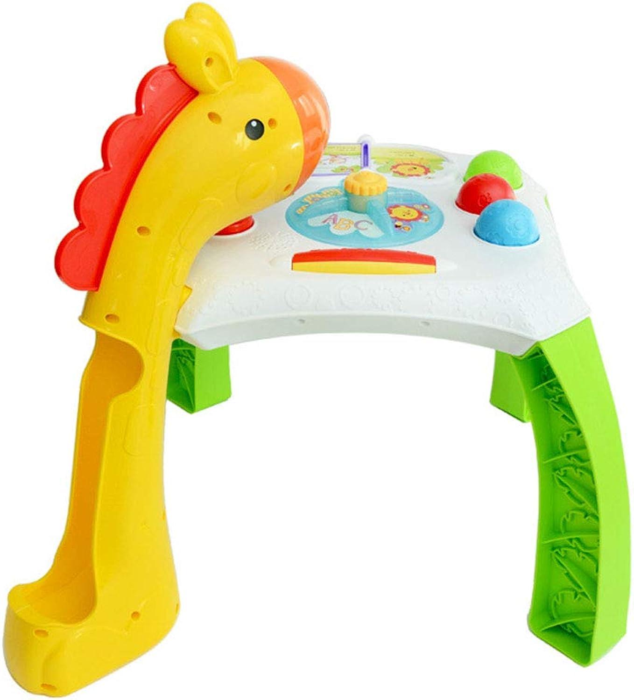 ventas de salida Cajas de música Niños que aprenden la mesa mesa mesa de juego Mesa de juguete multifuncional Bebé Educación temprana Juguetes educativos Música Beats Enlightenment Juguetes 1-3 años de edad Juguetes interactivos Ju  buen precio