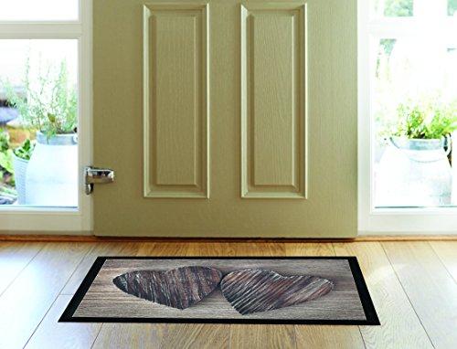 My Home - Felpudo (40 x 60 cm), Color Negro