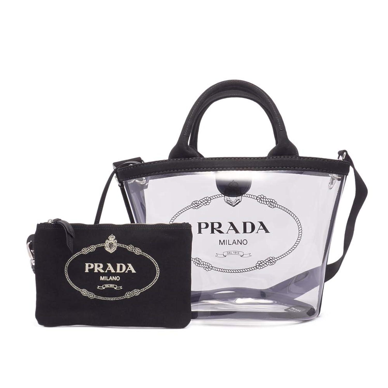 (プラダ) PRADA ハンドバッグ CANAPA PLEX S FABRIC HANDBAG カナパ プレックス ファブリック S 1BG1872BY5 レディース NERO F0002 [並行輸入品]