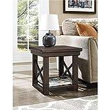 Ameriwood Home Wildwood Wood Veneer End Table, Espresso