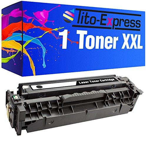 Tito-Express PlatinumSerie 1 Toner XXL Schwarz für HP CE410X Laserjet Pro 400 Color M451DN 400 Color M451DW 400 Color M451NW 400 M475DN 400 M475DWHP