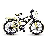 HERO CYCLES Hero Stark 20T 6 Speed Cycle (Black/Yellow)