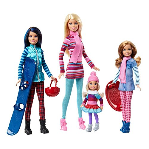 Barbie y Hermanas Escapada de Invierno