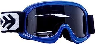 ARMOR Helmets AKC 49 Kinder Schutz-Brille, Motorrad-Helm, Blau