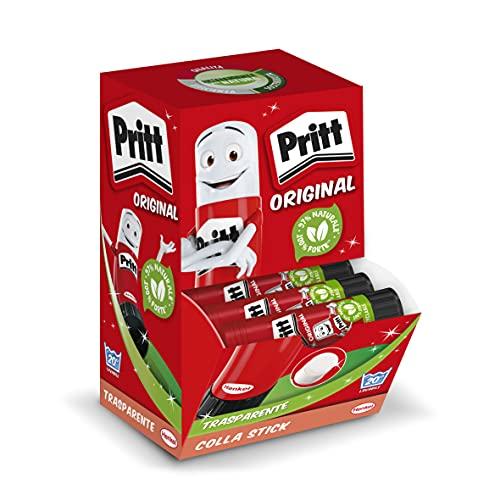 Pritt Barra Adhesiva, pegamento infantil seguro para niños para hacer manualidades, cola universal de adhesión fuerte para estuche escolar y oficina, 15x22 g Pritt Stick