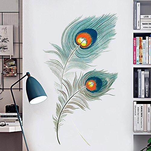 Veer Muurstickers Creatieve Persoonlijkheid Behang Art Stickers Woonkamer Wallpaper Deur Stickers College Slaapzaal Muur Schilderen Zelfklevend
