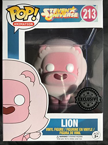 Figura Pop! Vinyl Steven Universe Lion Flocked