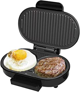 Toastie Maker Large Fit Grill Steak Burger Omelettmaskin Mångsidig Grillb