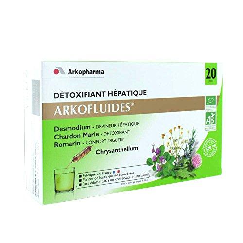 Arkopharma Détoxifiant Hépatique Desmodium Chardon Marie Chrysanthellum