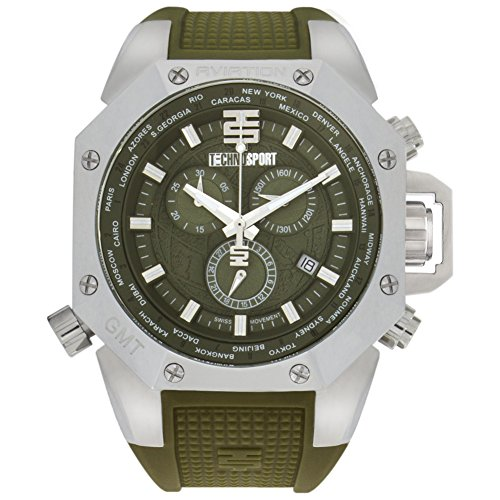 TECHNO Sport Hombre Chrono Reloj – Aviation Military