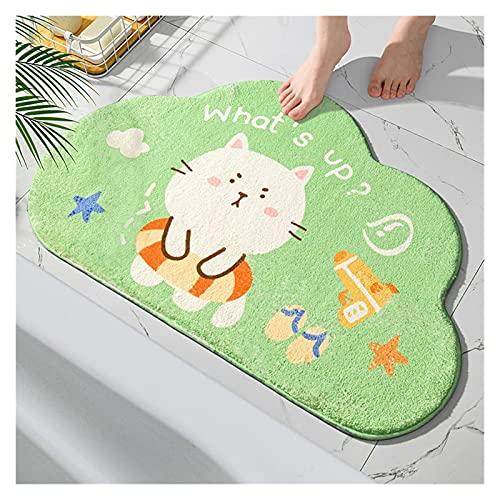Felpudo Cielo azul Baño de baño Alfombra de la alfombra de la alfombra de la alfombra de la alfombra antideslizante Mat de dibujos animados de la alfombra mascota Absorbente Bañera Bañera Mat Cama Coc