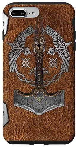iPhone 7 Plus/8 Plus Vikings Valhalla Warrior Odin Norse Sweden Axe Case