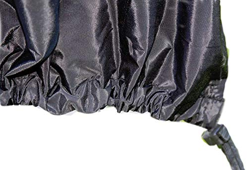 COLIBROX BBQ Grill Cover fits George Foreman 15 Serving Indoor and Outdoor Round GGR240L :New