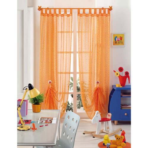 Disney Tenda Winnie The Pooh arredo cameretta 140x290 Velo col Arancione G287