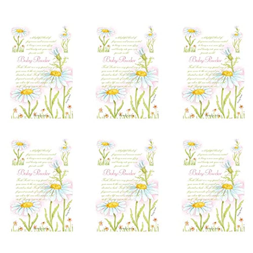 WILLOWBROOK Fresh Scents Scented Sachet - Baby Powder, 6-Pack