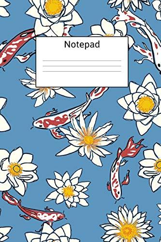 Koi Fish Themed Notepad