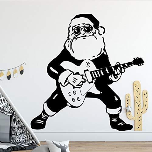 Kinderkamer decoratie accessoires gitaar jongen design muursticker waterdicht vinyl muursticker zelfklevend behang