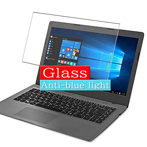 Synvy Anti Blue Light Tempered Glass Screen Protector Compatible with Acer Aspire One 1-431 / 431M Cloudbook 14' Visible Area 9H Protective Screen Film Protectors (Not Full Coverage)