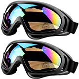 Peicees Ski Goggles for Women Men Kids Snow Sports Motorcycle Snowboard Goggles