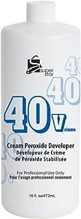 Super Star Stabilized Cream Peroxide Developer, 40v Hc-50402