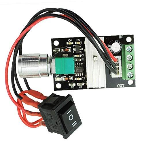 Ohomr Controlador de Velocidad de Motor de Corriente Continua 6v 12v 24v 28v 3a 80w 1203bb Pwm Conductor del Motor de Interruptor inversor de Velocidad Ajustable