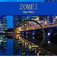 Canon Nikon Sony用ZOMEI光学ガラススリム77mm 6点スターライトフィルターABS