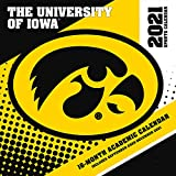 Iowa Hawkeyes 2021 12x12 Team Wall Calendar