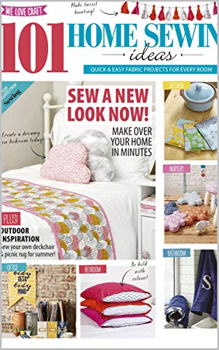 home sewing ideas: 101 Home Sewing Ideas For Every Room (English Edition)