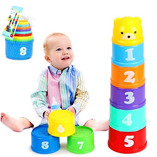 Taza de Juguete para bebé, Juguete Taza Apilable, Cubos Apilables, Niños Apilando Tazas, Taza de...