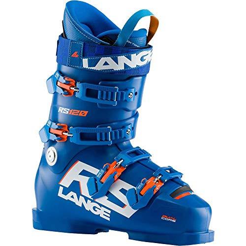 Lange RS 120 Race Skischuh, Power Blue, 25.5