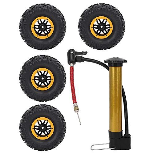 VGEBY RC-Reifen, 2,2 Zoll 135 mm 1/10 RC On-Road-Autoreifen Aufblasbare Reifen Upgrade Ersatzteile für 1/10 RC-Car