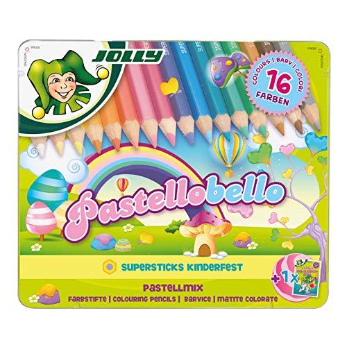 Jolly Superstick Pastellstiftezeichenset Pastellobello