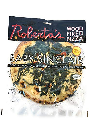 Robertas Frozen Pizza, Pizza Baby Sinclair Frozen, 9.7 Ounce