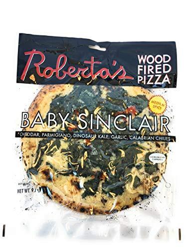 Robertas Frozen Pizza, Pizza Baby Sinclair Frozen, 9.7 Ounce