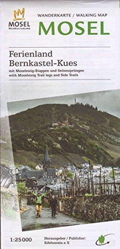 WK Bernkastel-Kues: Wanderkarte Nr. 35 des Eifelvereins: Wanderkarte / Walking Map Mosel. Mit Moselsteig-Etappen...